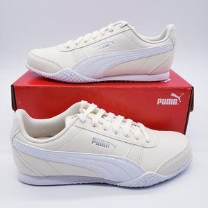 Puma Bella Eggnog Yellow White Casual Shoes